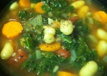 Tuscan Kale & White Bean Soup