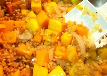 Baked Barley Risotto w/Butternut Squash