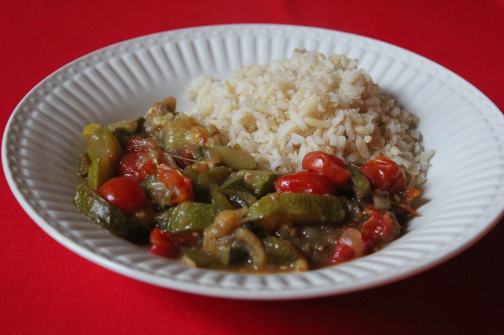 Ratatouille & Brown Rice